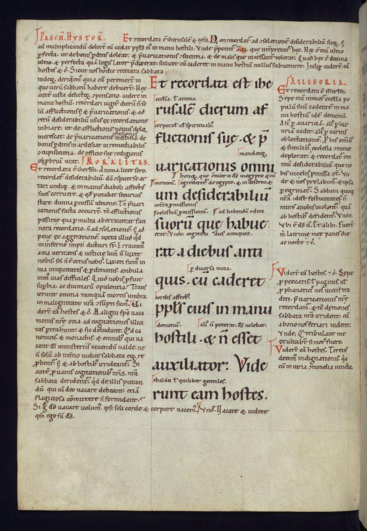 Baltimore, Walters Art Museum, W.30. f. 6v (Austria, second half of 12th c.)